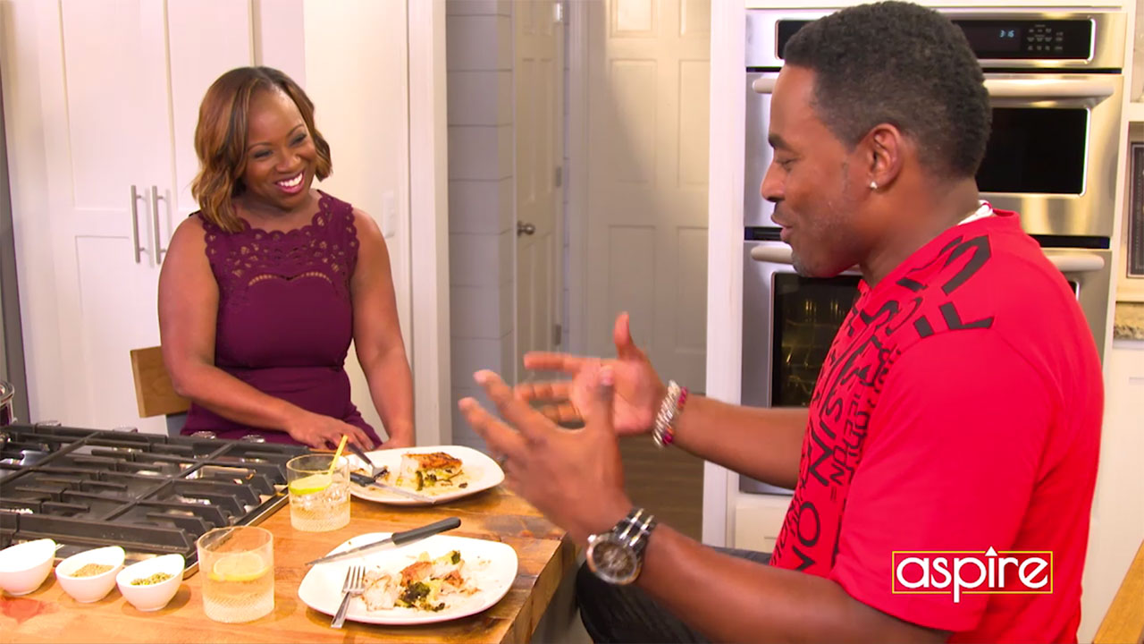 Chop it UP with Gina Neely – Cooking Healthy