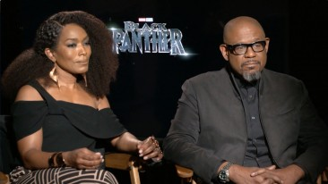 Black Panther Interview with Angela Bassett and Forest Whitaker