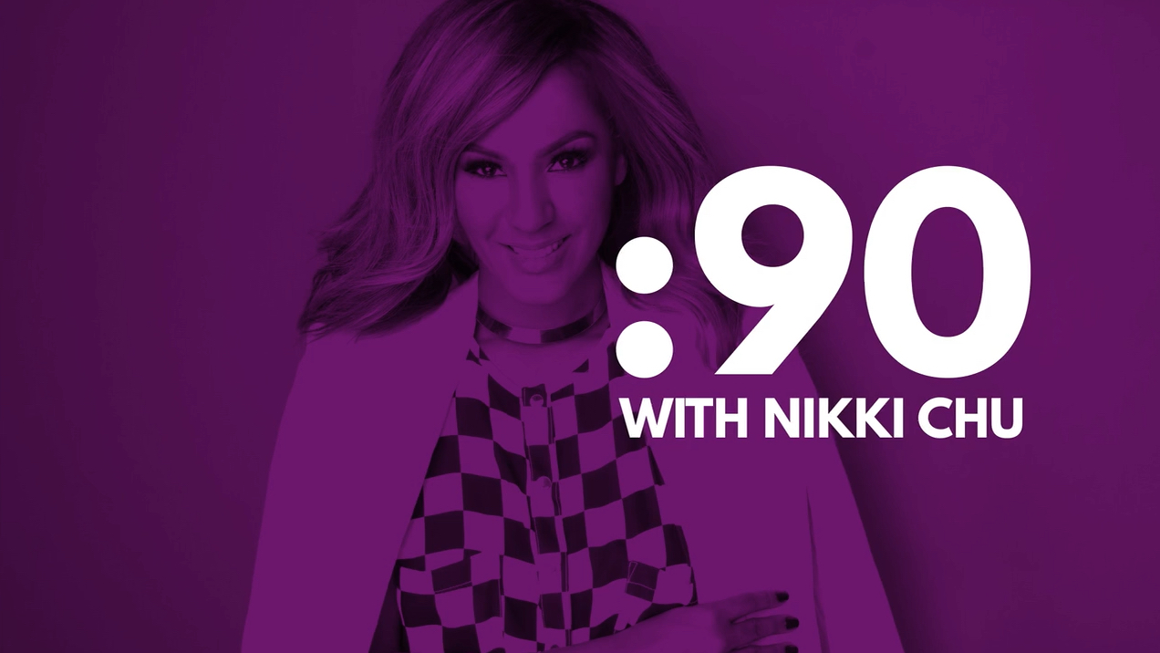 """:90 with Nikki Chu, Host of """"Unboxed with Nikki Chu"""""""