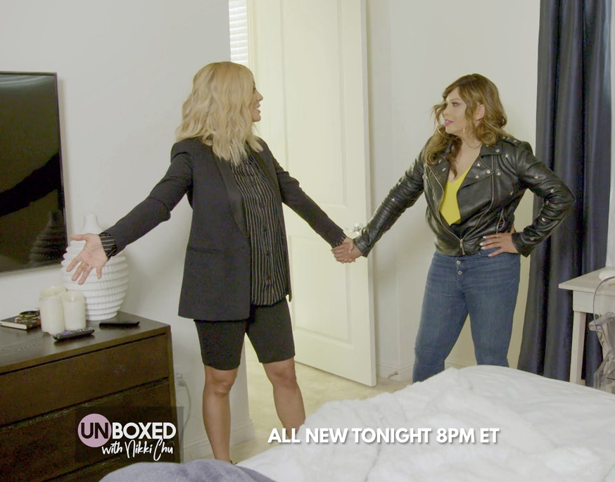 Tonight at 8pm ET! Catch the Season Finale of Unboxed with Nikki Chu featuring Tisha Campbell